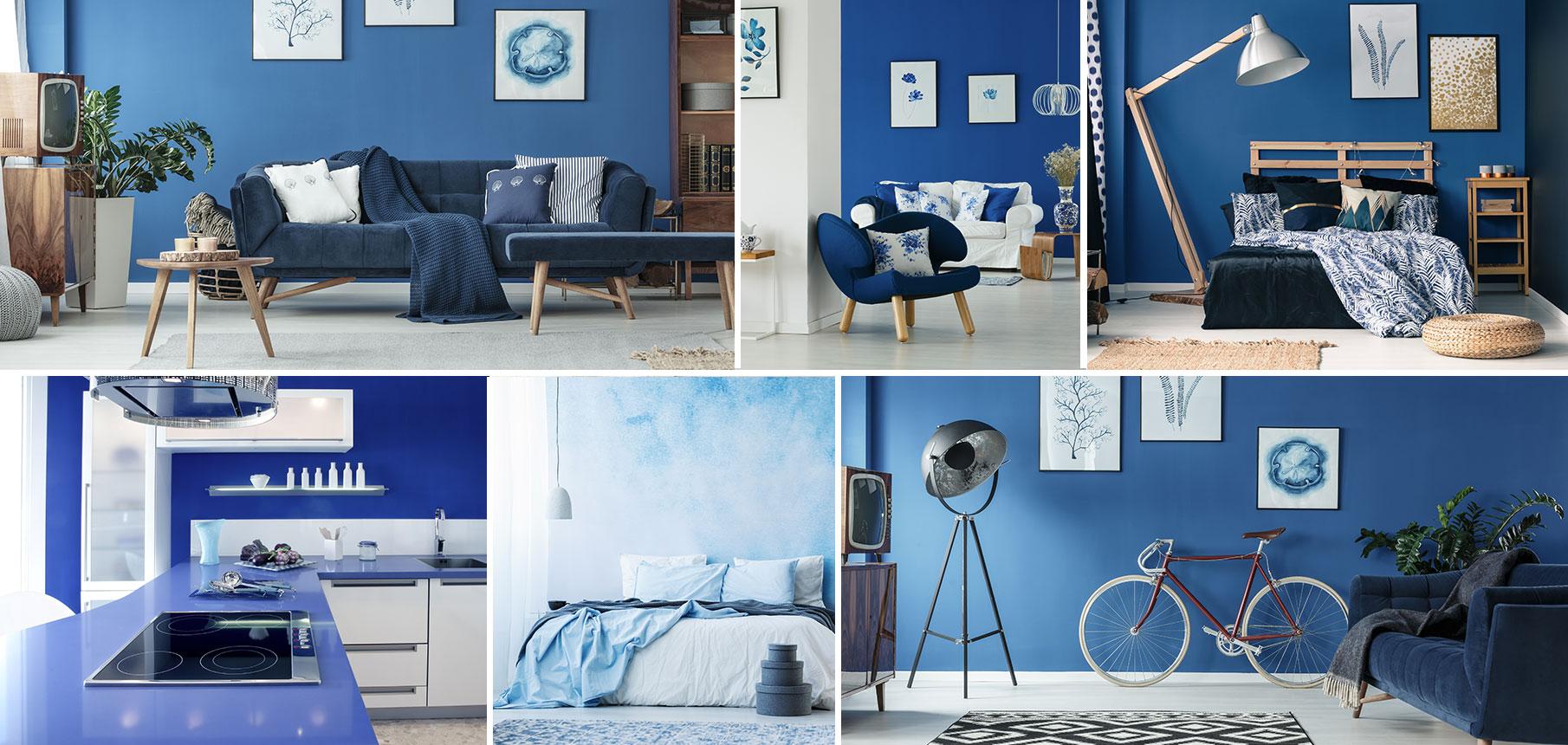 Bleu Couleur Bleue