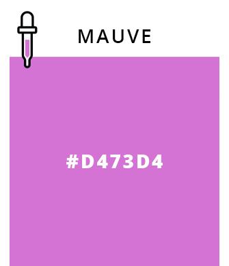 Mauve   #D473D4