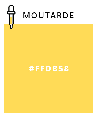Moutarde - #FFDB58