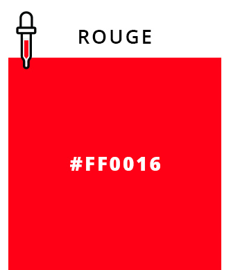 Rouge - #FF0016