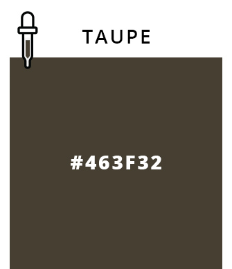 Taupe - #463F32