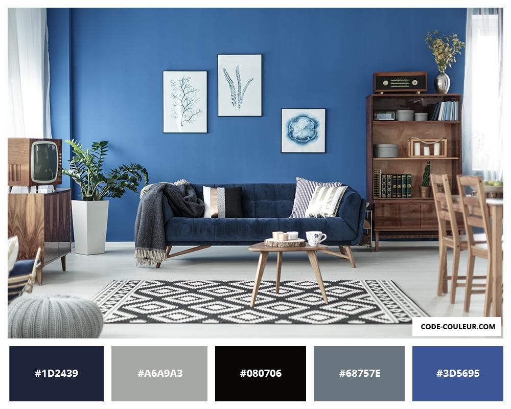 Deco Salon Bleu Roi bleu roi - couleur bleu roi