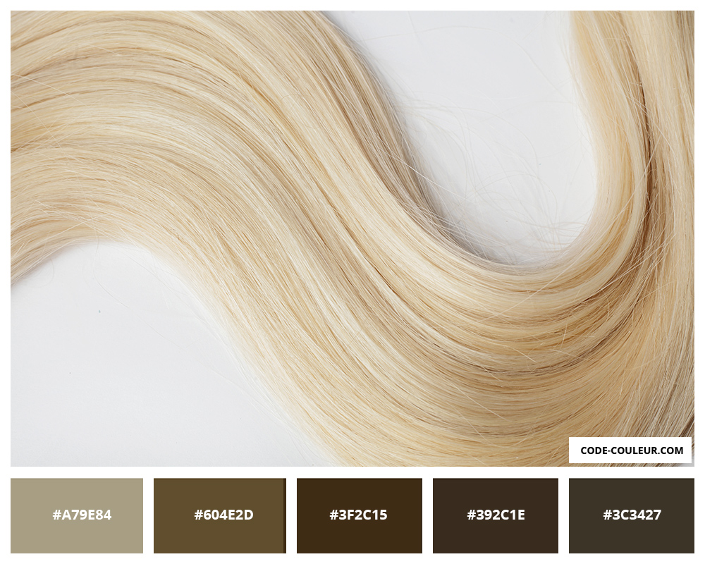 Blond Blonde Cheveux De Couleur Blond