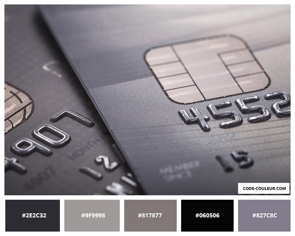 Carte De Paiement Black.Code Couleur La Couleur De Votre Carte Bancaire
