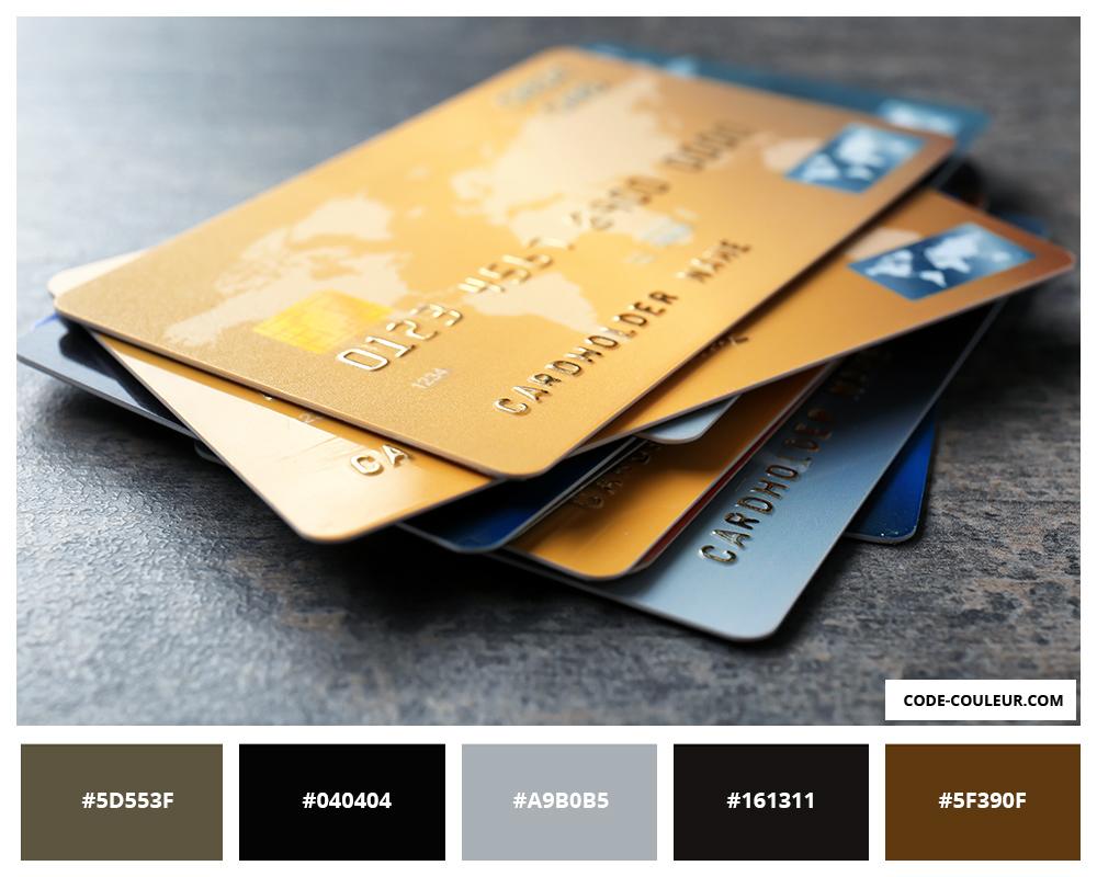 Carte Bancaire Or.Cb Or Carte Bancaire De Couleur Dore