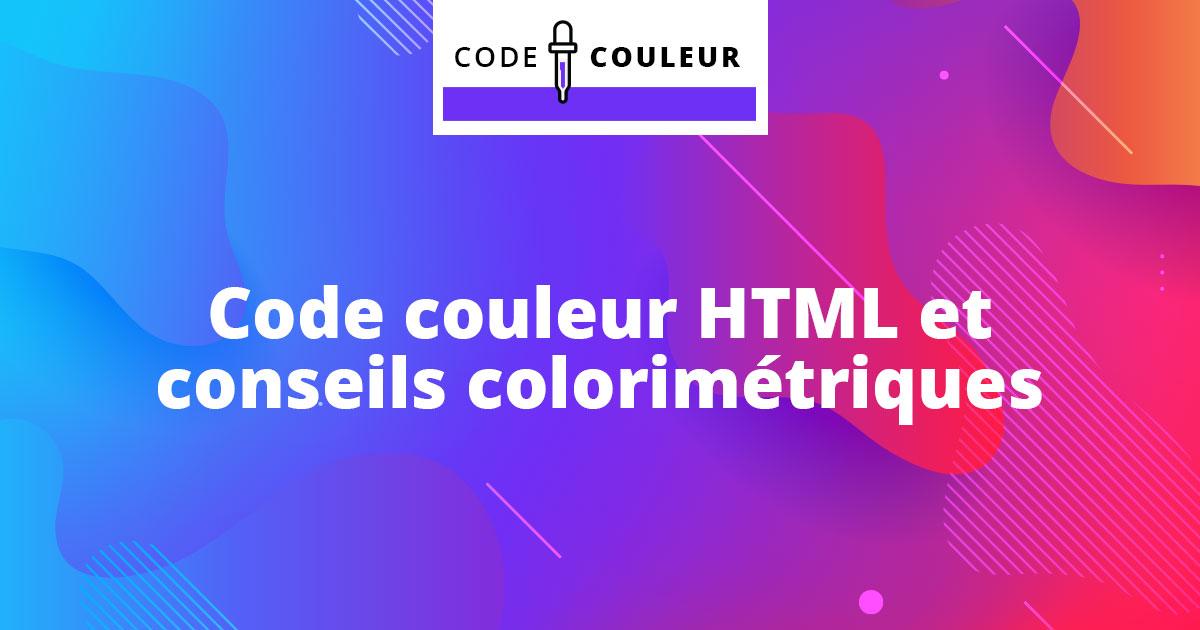 Code Couleur Dictionnaire Des Couleurs